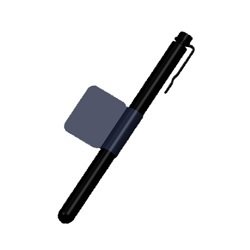 Universal Stylus Pen with Penholder